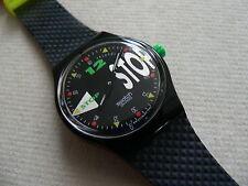 1992 Swiss Swatch Stop watch NightShift SSB101 New