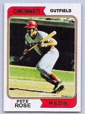 """1974  PETE ROSE - Topps """"REPRINT """" Baseball Card # 300 - CINCINNATI REDS"""