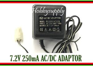 DC 7.2V 250mA AC/DC Adaptor AC 220-240V 50Hz Tamiya Connector UK Plug charger