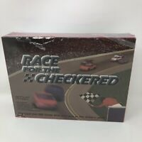 Vintage Race For The Checkered Board Game Leroy And Barbara Pond 2002 New