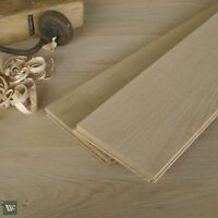 6 inch Classic Floorboards - Unfinished European Oak - Square Edge - 22mm DS25