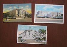 WASHINGTON DC Vintage Antique Postcards ~ Senate Office Building ~ Lot of 3