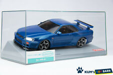 Kyosho MINI-Z Body NISSAN SKYLINE GT-R V-Spec R34 Metallic Blue MZG1MB GLOSS