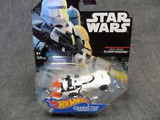 Hot Wheels Star Wars NEW * First Order Flametrooper Character Car * Die-Cast