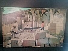 Postcard Stone Quarry in Bermuda.    Z3