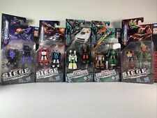 Lot of 5 Transformers Siege War for Cybertron Earthrise Micromasters - New