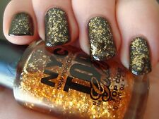 NEW! NYC Nail Polish Lacquer / Top Coat in TOP OF THE GOLD