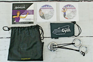 Spin Gym with Fitness Instructional & Workout Video DVD Disc + Abs and More DVD