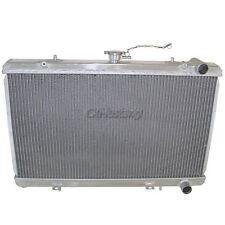 CXRacing Aluminum Radiator For 89-94 240SX S13 KA24DE CA18DET RB20 Engine 2 Rows
