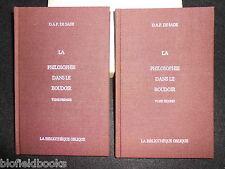 Marquis De Sade: La Philosophie Dans Le Boudoir - Erotica, Bibliotheque Oblique