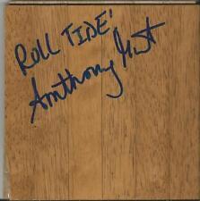 Anthony Grant Signed 6x6 Floorboard Alabama Roll Tide Inscription