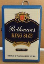 ROTHMANS KING SIZE CIGARETTES VTG METAL PAPER CLIP HOLDER