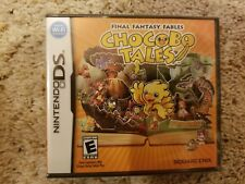 Final Fantasy Fables: Chocobo Tales (Nintendo Ds, 2007) *Sealed*