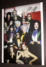 THE ROCKY HORROR PICTURE SHOW  / LITTLE NELL / SIGNED IN PERSON COLOR PHOTO  #1