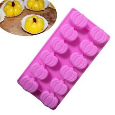 Halloween Pumpkin Silicone Cake Candy Chocolate Cookie Mold Soap Ice Cube Mould