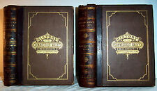 1879 Leather MASSACHUSETTS History Springfield Northampton Greenfield Pioneers
