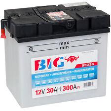 BIG 12 V 30Ah John Deere Murray Yard King Rasentraktor Aufsitzmäher Batterie