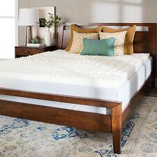 Memory Foam Mattress Topper Full Size 4 Inch Sleep Comfort Soft Bedding New