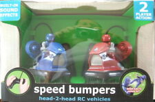 The Black Series 2 Head-to-Head Speed Bumpers Wireless Remote RC Set Blue & Red
