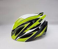 Beic Mars Road Bike Helmet S-M 54-57cm Black Green with LED Rear Light