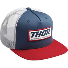 Thor Racing 2019 Adult Standard Trucker Patriot Hat One Size Fits All 2501-2905