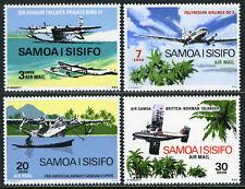 Samoa C3-C6, MNH. Airplanes, Sir Gordon Taylor's Bermuda flight, 1970