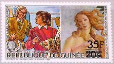 GUINEA 1986 1102 997 ovp ÜD Botticelli Venus Art Kunst Painting Gemälde MNH