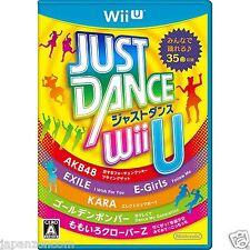 JUST DANCE Wii U NINTENDO WII U JAPANESE NEW JAPANZON
