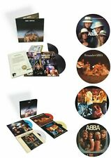 ABBA ARRIVAL  Half Speed Remaster, Coloured 45's box set & Picture Discs SEALED