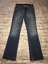 7 For All Mankind Women's sz 25  Blue  Bootcut Denim Jeans