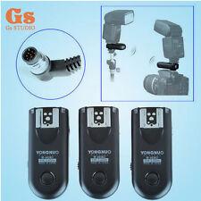 3pcs Yongnuo RF-603 II Flash Trigger Wireless Remote N1 for Nikon D800 D700 D300