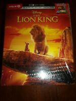 THE LION KING - 4K ULTRA HD, BLURAY & DIGITAL-LIMITED EDITION-NEW&FACTORY SEALED
