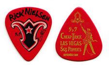 Cheap Trick Rick Nielsen Signature Las Vegas Red Guitar Pick - 2009 Tour