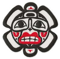 Patch écusson patche Soleil Indien Haida Inca Incas exclusif brodé