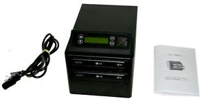 PDE ZipSpin DVD 121 Pro Stand Alone Duplicator Burner Copy CD DVD -R +R RW DL