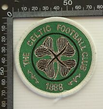 VINTAGE THE CELTIC FC FOOTBALL CLUB EMBROIDERED PATCH WOVEN CLOTH SEW-ON BADGE