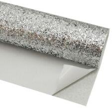 2pcs A4 Size Self Adhesive Chunky 3d Glitter Wall Fabric
