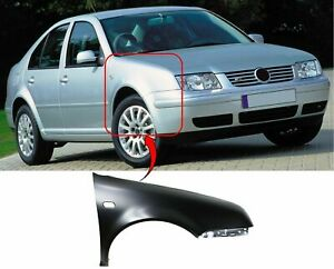 Vw Bora 1999-2006 Front Wing Primed Driver Side Insurance Approved New