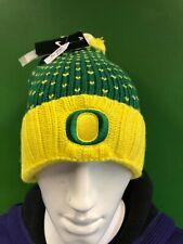 WH269 NCAA University of Oregon Ducks Nike Woolly Bobble Hat OSFA NWT
