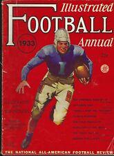 Illustrated Football Annual 1933 - Sid Gillman Ohio State Buckeyes HOF Chargers