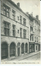 CPA-45-ORLEANS - Maison Agnes Sorel