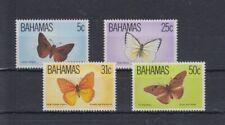 Bahamas 541 - 44 Butterflies (MNH)