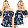 Fashion Pregnant Women Summer Casual Blouse Floral T-Shirt Top Maternity Clothes