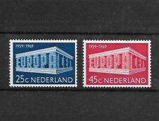 Olanda MNH 1969. Europa CEPT. Unif. 893/94