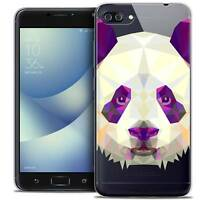 """Coque Housse Etui Pour Asus Zenfone 4 MAX PLUS / Pro ZC554KL (5.5"""") Polygon Anim"""