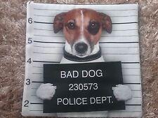 Kissenbezug für Inlett 40 x 40 Jack Russel, Hund, ohne Füllung Inlett