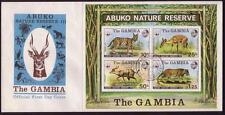 Cats African Stamp Blocks
