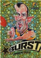 2018 Footy Stars Starburst Caricature YELLOW (SBY66) Shannon HURN West Coast