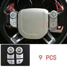 For Land Rover Range Rover L405 2013-17 silver Steering wheel Button patch Decor