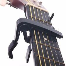 Capo Cejilla abrazadera Negro para Guitarra Folk Clásica Eléctrico GUITARRA 48h